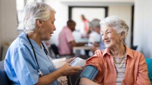 Douglas in home care -- blood pressure info