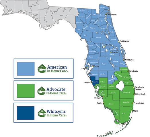 Advocate Map